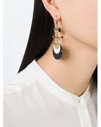 Isabel Marant - Metallic 'tcheky' Earrings - Lyst