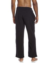 PUMA | Blue Fleece Sleep Pants for Men | Lyst