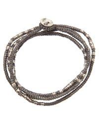 M. Cohen - Gray Yak Bone Bracelet for Men - Lyst