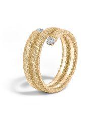 John Hardy | Metallic Classic Chain 18k Double Coil Diamond Bracelet | Lyst