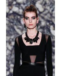 Nicole Miller | Gray Spiky Earrings | Lyst