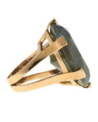 Stephen Dweck - Green Oval-Cut Labradorite Ring - Lyst
