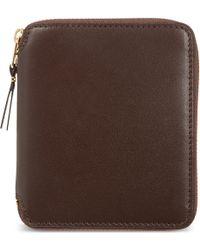 Comme des Garçons   Brown Classic Leather Wallet - For Men for Men   Lyst