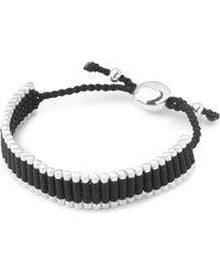 Links of London - Friendship Bracelet Black - Lyst