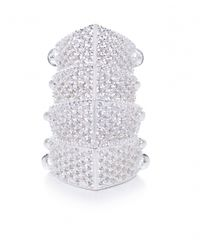Vivienne Westwood - Metallic Diamante Armour Ring - Lyst