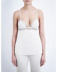 Eberjey - White Estelle Jersey Camisole - Lyst