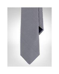 Polo Ralph Lauren - Blue Gingham Silk Twill Tie for Men - Lyst