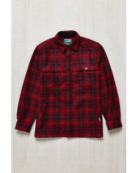 Woolrich | Red Stag Shirt Jacket for Men | Lyst