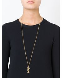 Marc By Marc Jacobs - Metallic 'lost And Found Candy Pendant' Necklace - Lyst