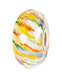 Trollbeads | Yellow Sterling Silver River Life Glass Bead | Lyst