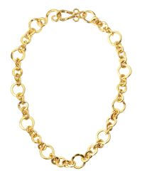 Stephanie Kantis - Metallic Coronation 24k Gold Plate Small Necklace - Lyst
