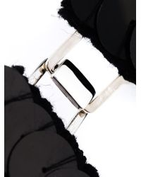 Marni | Black Scale Bib Necklace | Lyst