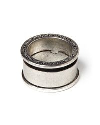 Cheap Monday | Metallic Ny Ring - Silver for Men | Lyst