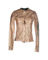 Giorgio Brato - Metallic Jacket - Lyst