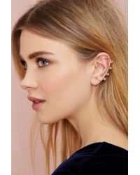 Nasty Gal - Metallic 8 Other Reasons Babe Town Ear Cuff Set - Lyst