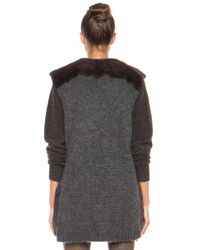 Isabel Marant - Brown Adrien Fur Vest - Lyst