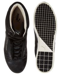 PUMA - Black Puma Chalayan Glide Sneakers for Men - Lyst