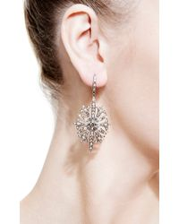 Bochic | Metallic Diamond Gothic Starburst Earrings | Lyst