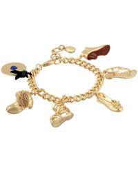 Sam Edelman | Metallic Charming Bracelet | Lyst