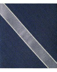 Cole Haan - Blue Hanover Panel Tie for Men - Lyst
