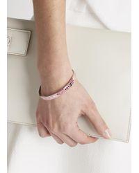 Marc By Marc Jacobs - Classic Pink Enamel Bracelet - Lyst