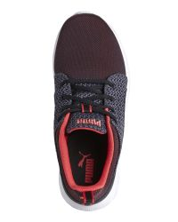 PUMA - Cayenne & Black Carson Runner Knit Sneakers for Men - Lyst