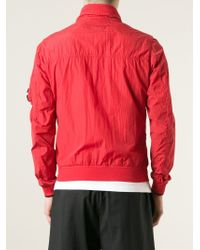 C P Company - Red Zip Front Jacket for Men - Lyst