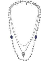Pamela Love | Metallic Archer Necklace | Lyst