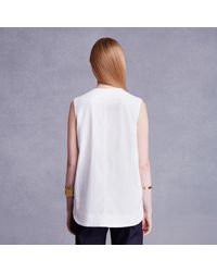 Trademark | White Pocketed Tank | Lyst