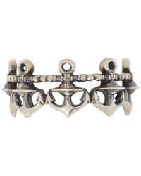 Vivienne Westwood | Metallic Anchor Ring | Lyst