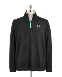 Under Armour | Black Long Sleeve Performance Tee for Men | Lyst