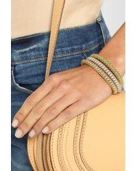 Carolina Bucci - Metallic Twister Set Of Three Gold-Plated Bracelets - Lyst