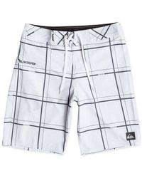 Quiksilver | White Electric Stretch 21 Board Shorts for Men | Lyst