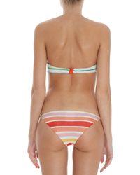 Missoni - Multicolor Lurex Bandeau Bikini - Lyst