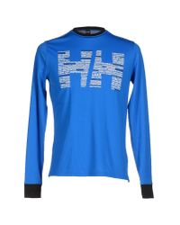 Helly Hansen | Blue T-shirt for Men | Lyst