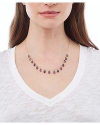 Melissa Joy Manning - Metallic Gold Iolite Briolette Drop Necklace - Lyst