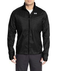 Helly Hansen | Black 'pace Norviz Heat' Reflective Running Jacket for Men | Lyst
