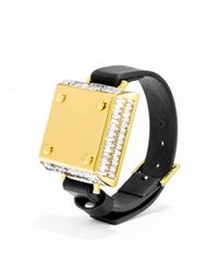 BaubleBar | Metallic Salsa Bracelet & Up Move By Jawbone Duo- Black | Lyst