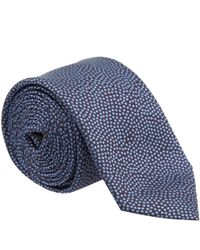 Simon Carter | Blue West End Polka Dot Silk Tie for Men | Lyst