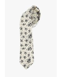 7 For All Mankind | Natural Pocket Square Clothing The Alexandria Tie In Cream for Men | Lyst