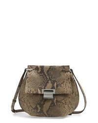 Ivanka Trump | Brown 'turnberry Pancake' Crossbody Bag | Lyst