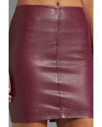 Muubaa | Red Azka Fitted Skirt in Wine | Lyst