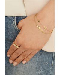 Jennifer Meyer - Metallic Empower 18-karat Gold Bracelet - Lyst