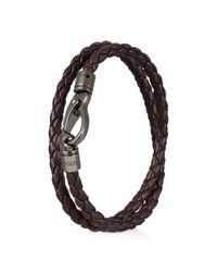 Tod's | Purple Mycolors Bracelet In Leather for Men | Lyst