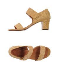 Chie Mihara | Natural Sandals | Lyst