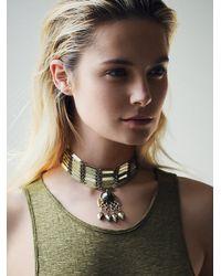 Free People | Green Womens Talia Collar | Lyst