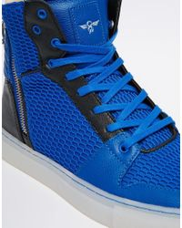 Creative Recreation Blue Adonis Sneakers for men