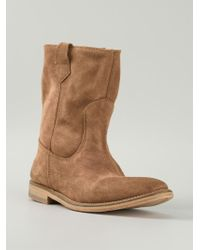H by Hudson | Brown 'hanwell' Boots | Lyst