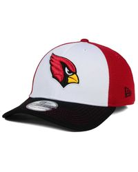 online store 9d769 ae4d6 Lyst - KTZ Arizona Cardinals Chase White Front Mesh 39thirty Cap in ...