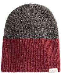 Neff | Red Duo Beanie for Men | Lyst